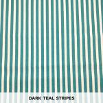 Dark Teal Stripes