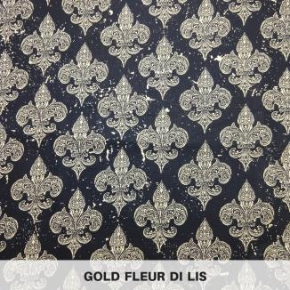 Gold Fleur di Lis