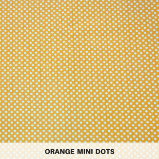 Orange Mini Dots