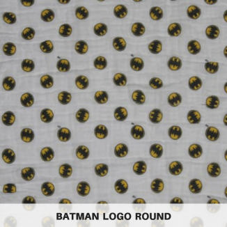 Batman Logo Round