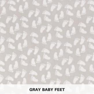 Gray Baby Feet