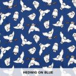 Hedwig on Blue
