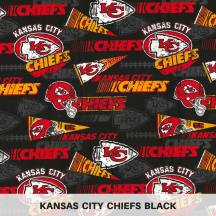 Kansas City Chiefs Black