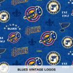 Blues Vintage Logos