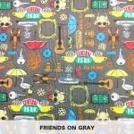 Friends on Gray
