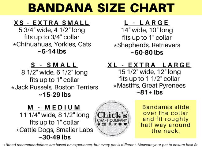 Size Chart Bandana Only (1)
